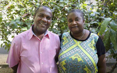 Hilsen fra Myrtha på Haiti