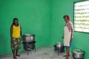 Nya skolköket i Ghana