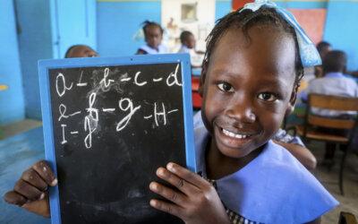 Tilbake til skolen igjen på Haiti