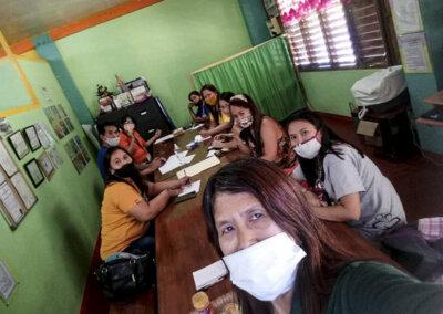 Forberedelser på Filippinene