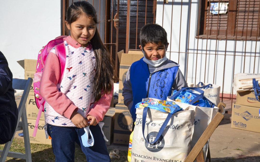 Mer nødhjelp i Argentina