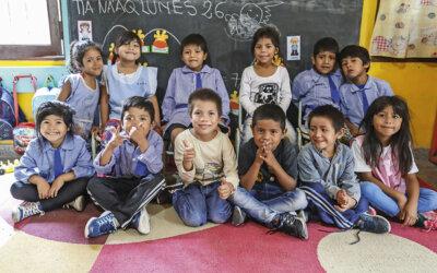 Hjelp oss å ferdigstille Albas skole!