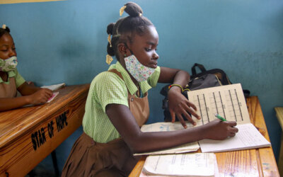 Skolen på Haiti er i gang igjen