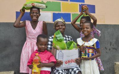 Ny matutdeling i Ghana