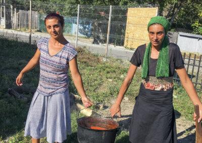 Koking av tomatsaus