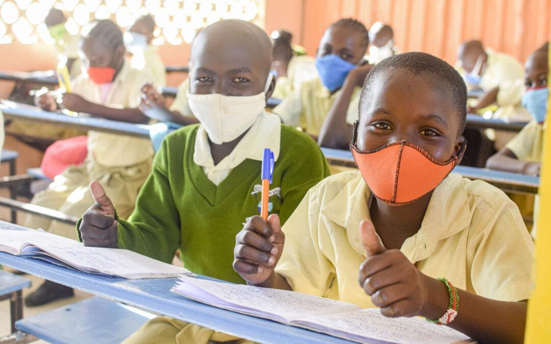 Skolestart i Kenya