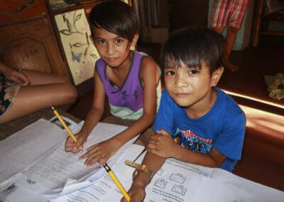 Skolestart på Filippinene