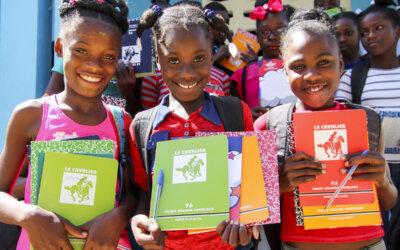 Skolestart på Haiti