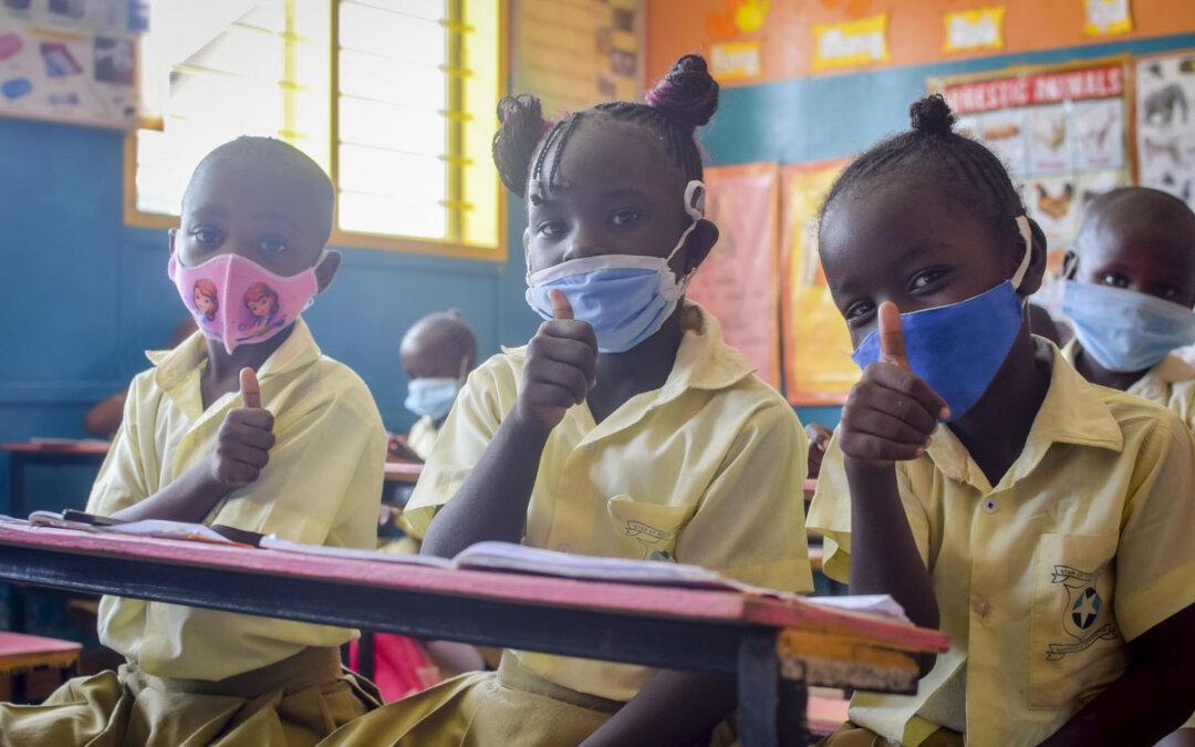 Første skoledag i Kenya 2021