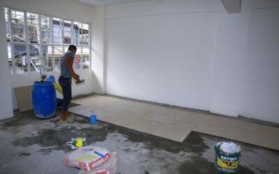 Arbeidet i Taytay fortsetter