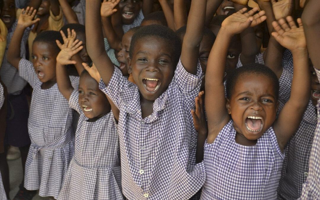 Ghanas skoler har åpnet