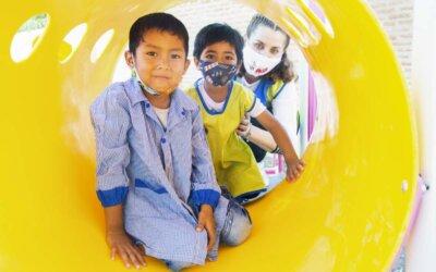 Skolestart og ny lekepark i Argentina