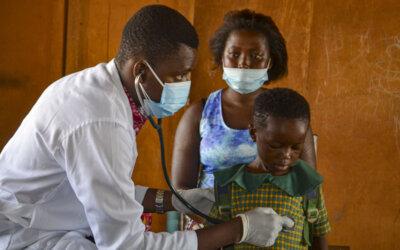 Helsesjekk i Ghana