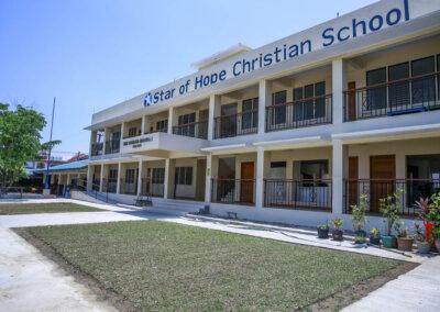 Skolebygg på Filippinene snart ferdigstilt