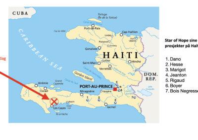 Jordskjelv på Haiti