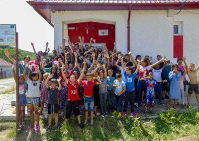 Sommerleir i Romania