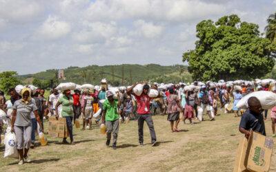Her når hjelpen Haitis jordskjelvofre